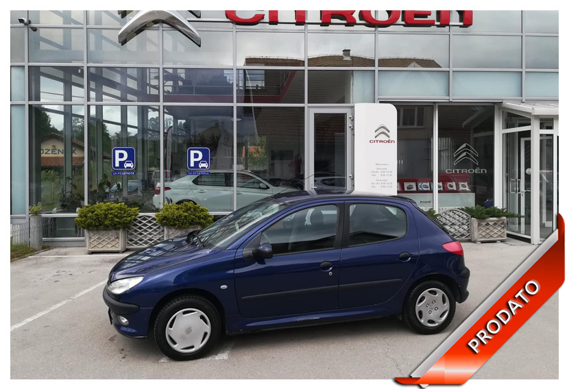 Peugeot 206 1.4 i 75KS
