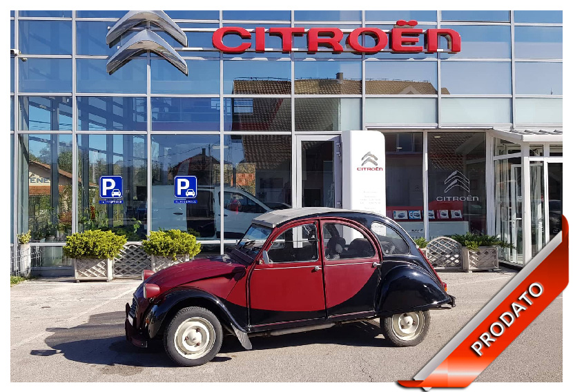 Citroën 2 CV 6 - Spaček